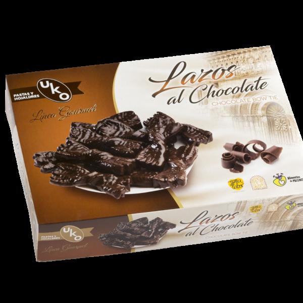 Lazos al Chocolate - Linea Gourmet - Pastas y Hojaldres Uko