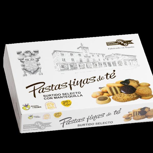 Pastas finas de té Clásica - Linea Gourmet - Pastas y Hojaldres Uko