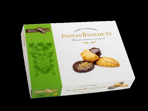 Pastas finas de té - Linea Gourmet - Pastas y Hojaldres Uko