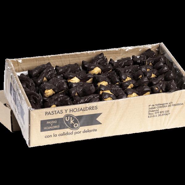 Mini lazos al chocolate (granel) Pastas Uko
