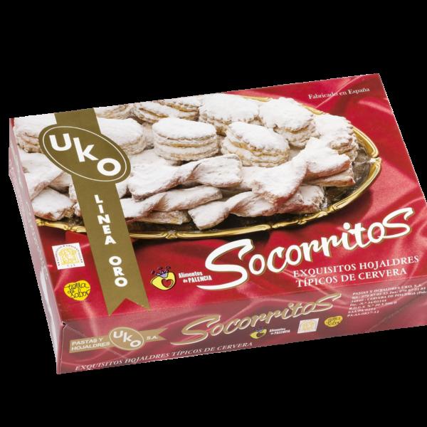 Socorritos Oro Linea Gourmet Pastas y Hojaldres Uko